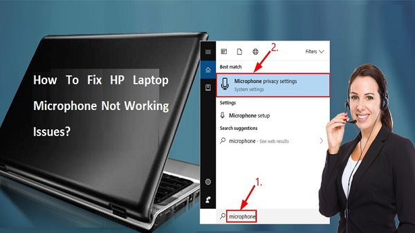 HP Laptop Microphone Not Working